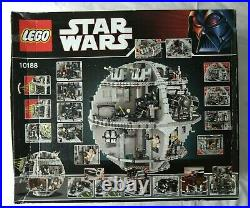 Sealed & Boxed Star Wars -10188 Ucs Ultimate Death Star Box Is In Good Order
