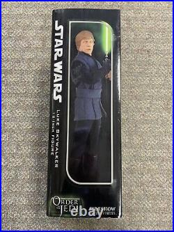 + Sideshow Collectibles 16 Scale Star Wars Order Of The Jedi Luke Skywalker