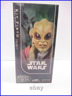 Sideshow Collectibles Star Wars Order Of The Jedi KIT FISTO 1/6 Scale COMPLETE