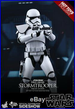 Sideshow Hot Toys MMS 316 Star Wars First Order Stormtrooper Squad Leader MIB
