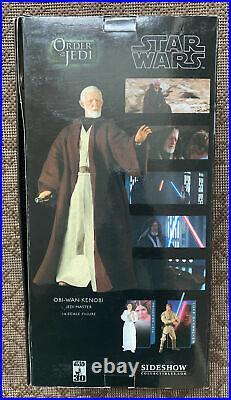 Sideshow Obi Wan Kenobi 12 Star Wars Order Of The Jedi Master 16 NEW Mint