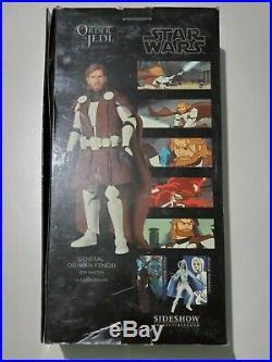 Sideshow Star Wars Clone Wars Armor GENERAL OBI-WAN KENOBI 1/6 Scale Order Jedi
