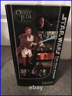 Sideshow Star Wars Obi-Wan Kenobi 12 1/6 Exclusive Order Of The Jedi Sealed