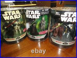 Star Wars 2008 Order 66 full set Series 2 by Hasbro MIB