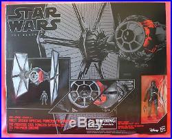Star Wars 6 Black Series #01 First Order TIE Fighter & Pilot