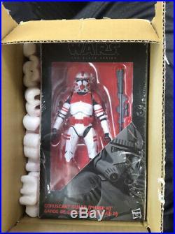 Star Wars 6 Black Series Order 66 Clone Trooper Coruscant Guard Phase 2 NIB