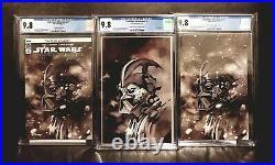 Star Wars Adventures #1 CGC 9.8 Order 66 Virgin Scorpion Complete Set NM Rare