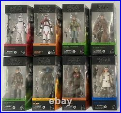 Star Wars Black Series 6 Action Figures Wave 2 -Set of Eight PRE-ORDER
