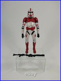 Star Wars Black Series 6 Clone Shock Trooper Order 66 EE Exclusive Loose