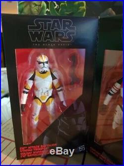 Star Wars Black Series 6 Clone Troopers Order 66 Entertainment Earth 4 Pack