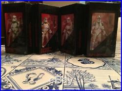 Star Wars Black Series 6 Inch Order 66 EE Exclusive 4 Pack Clone Troopers