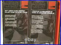 Star Wars Black Series EE Order 66 Clone 4 Pack 501st 442nd 212th Coruscant