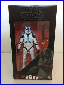 Star Wars Black Series Entertainment Earth Exclusive Clone Troopers Order 66 MIP