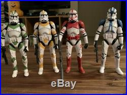 Star Wars Black Series Entertainment Earth Order 66 Set, Loose, Immaculate Shape