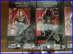 Star Wars Black Series Jedi Fallen Order Set cal second sister purge trooper