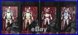Star Wars Black Series Order 66 Clone Trooper 4-pack 2016 sealed EE exclusive