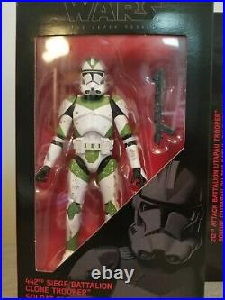 Star Wars Black Series Order 66 Clone Trooper 501st 212th 442nd Coruscant