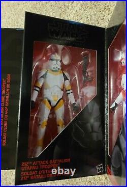 Star Wars Black Series Order 66 Clone Troopers EE 4-Pack