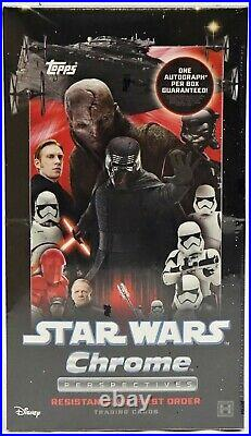 Star Wars Chrome Perspectives Resistance vs. The First Order Hobby Box 2020