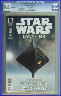 Star Wars Dawn of the Jedi #0 CGC 9.6 3rd Print 1st App Je'Daii Order