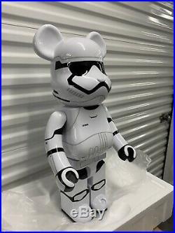 Star Wars First Order Stormtrooper 1000% Be@rbrick Bearbrick