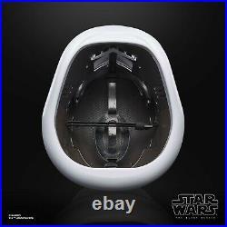Star Wars First Order Stormtrooper Black Series Electronic Helmet PRE ORDER
