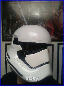 Star Wars First Order Stormtrooper Helmet Prop