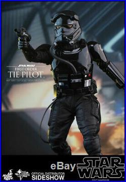 Star Wars First Order TIE Pilot 1/6 Hot Toys Sideshow 902555 MMS324 NIB
