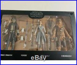Star Wars Galaxy's Edge Black Series Droid Depot, Smugglers Run, First Order Set