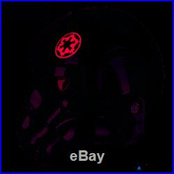 Star Wars Iden Versio Inferno Squad Commander 11Scale Wearable Helmet Pre-Order