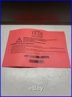 Star Wars Jedi Fallen Order LIGHTSABER Press Kit Collector's Edition Ultra Rare