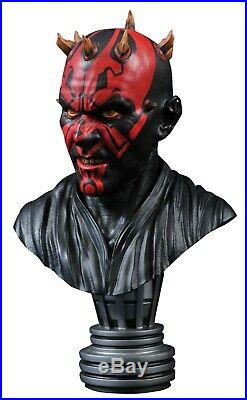 Star Wars Legends 3D Darth Maul 1/2 Scale Limited Edition Bust PRE-ORDER NEW