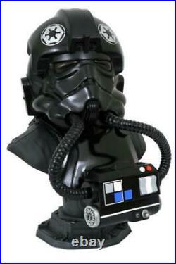 Star Wars Legends in 3D TIE Fighter Pilot 1/2 Scale Bust Pre-Order