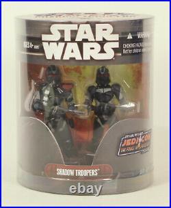 Star Wars Order 66 Hasbro Shadow Troopers Jedi Con 2008 Exclusive