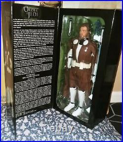 Star Wars Order of the Jedi General Obi-Wan Kenobi 16 Sideshow Hot Toys NIP