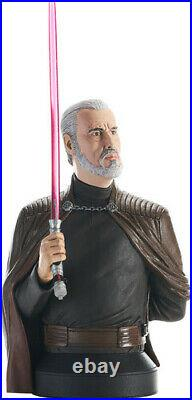 Star Wars Revenge of the Sith Count Dooku 1/6 Scale Bust Pre-Order