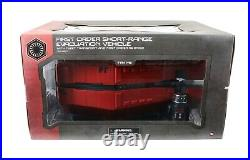 Star Wars Rise of the Resistance First Order Short Range Evacuation Vehicle RED