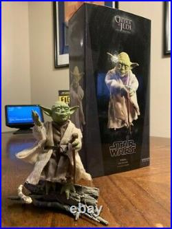 Star Wars Sideshow Yoda Order of the Jedi 16 scale figure