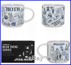 Star Wars Starbucks Disney Mug 2020 Set Hoth + Bespin + Dagobah PRE ORDER
