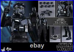 Star Wars TFA MMS324 1/6 Hot Toys First Order Tie Fighter Pilot US Seller