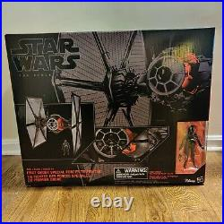 Star Wars The Black Series 6'' First Order Special Forces Elite TIE Fighter NIB