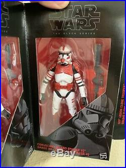 Star Wars The Black Series 6 Order 66 Clone Trooper Figures Entertainment Earth