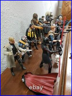 Star Wars The Black Series 6 inch loose LOT OF 12! Bad Batch Solo Fallen Order