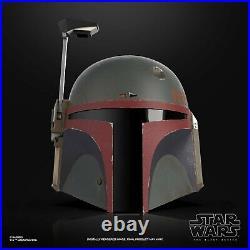 Star Wars The Black Series Boba Fett (Re-Armored) Premium Helmet PRE-ORDER