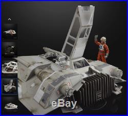 Star Wars The Black Series ESB 40th SNOWSPEEDER with DAK DELUXE Vehicle PRE-ORDER