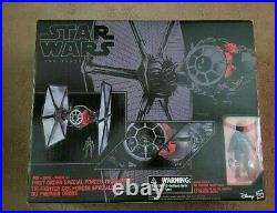 Star Wars The Black Series First Order 6 Scale Tie Fighter Vehicle & Figure NEW