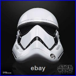 Star Wars The Black Series First Order Stormtrooper Electronic Helmet Pre-Order