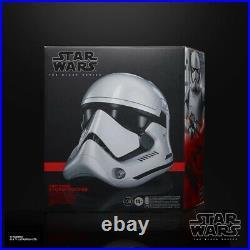 Star Wars The Black Series First Order Stormtrooper Premium Electronic Helmet