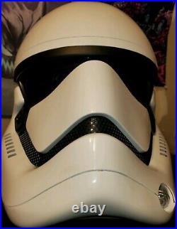 Star Wars The Force Awakens ANOVOS First Order Stormtrooper Helmet Replica