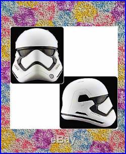 Star Wars The Force Awakens First Order Stormtrooper Helmet Anovos Prop Replica
